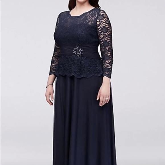 Formal plus size dress NWT